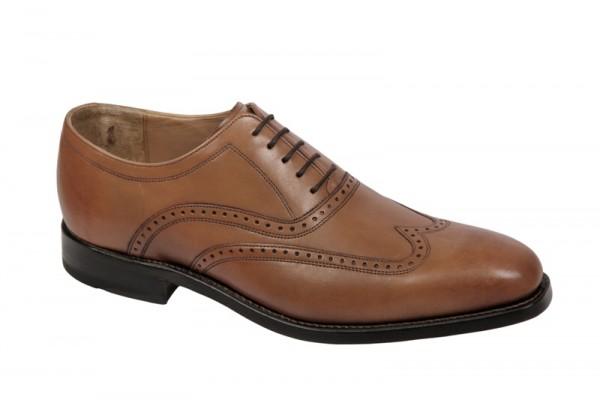 Gordon & Bros. 2321 tan hellbraun rahmengenähte Schuhe