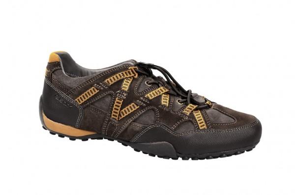 Geox Snake T - Sneakers - grau braun - U3407T