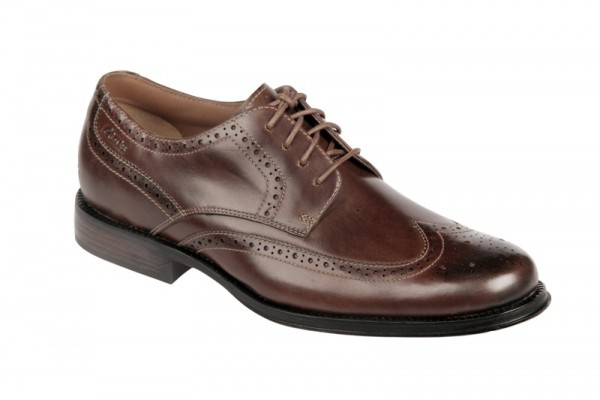 Clarks Dino Limit Schuhe mahogany brau Business