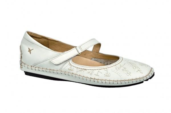 Pikolinos Schuhe Jerez espuma weiß Slipper 578-7777