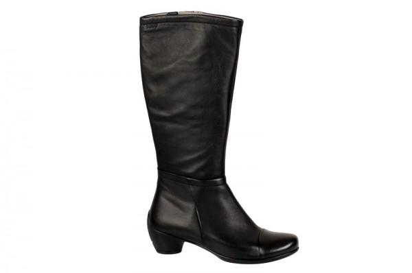 Ecco Sculptured Stiefel in schwarz 24553311001