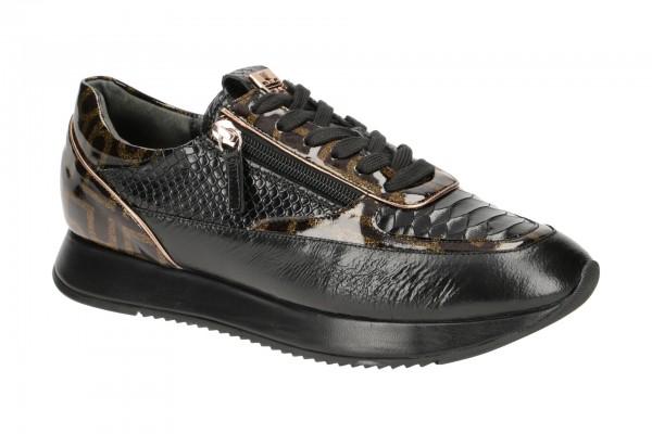 Högl Sneakers Schuhe schwarz bronce 1321