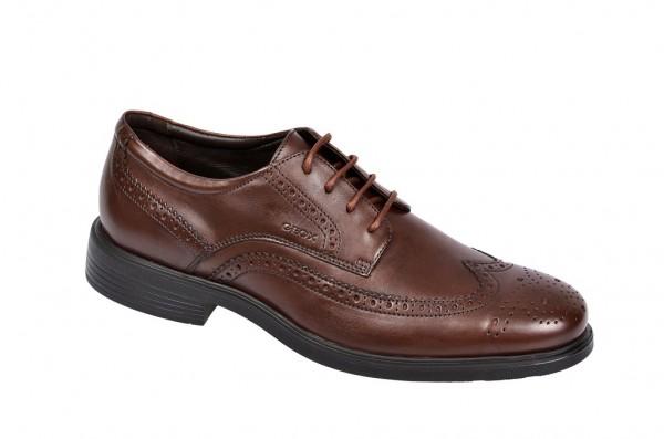Geox Dublin Schuhe cognac braun U34R2B 00043 C6001