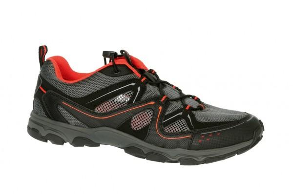 Ecco Ultra Trail Schuhe in schwarz grau