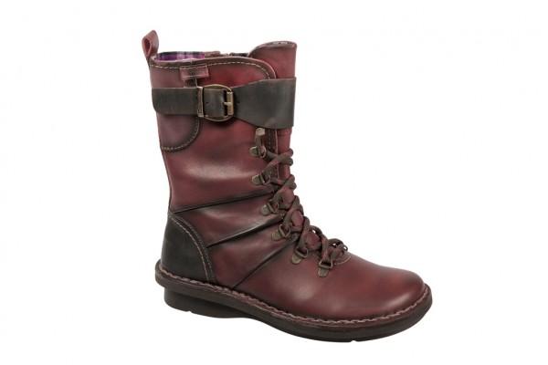 Pikolinos 644-8452 Stiefel dunkelrot braun