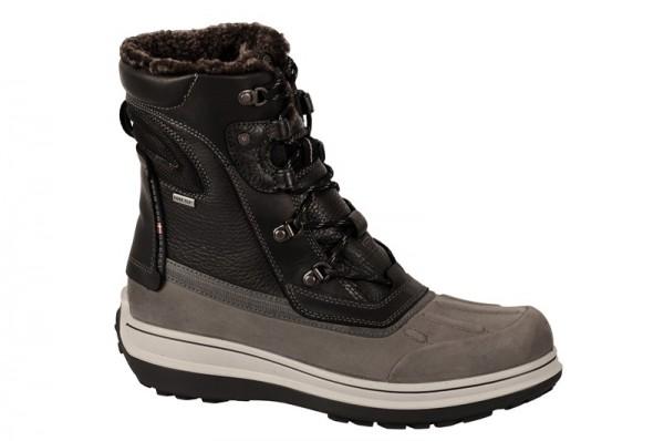 Ecco Roxton Stiefel grau schwarz Gore-Tex