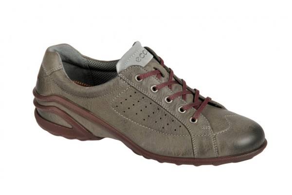 Ecco Lane Schuhe warm grey grau Sneakers