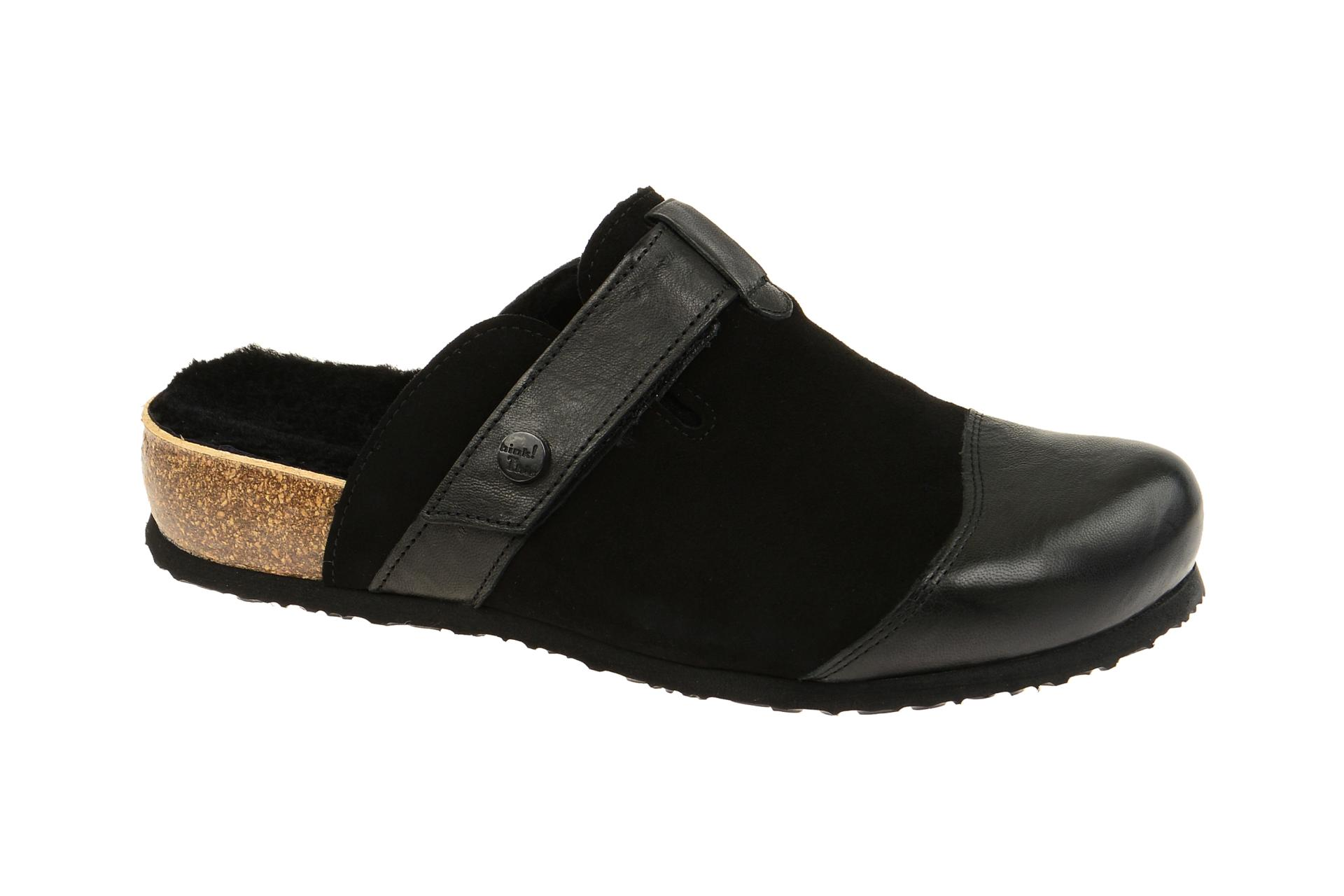 Think Julia Clogs schwarz Pantolette 7 87349 09