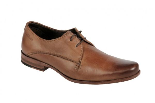 Clarks Schuhe Goto Eat tabacco braun