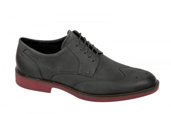 Ecco Biarritz Schuhe dunkelgrau Nubuk