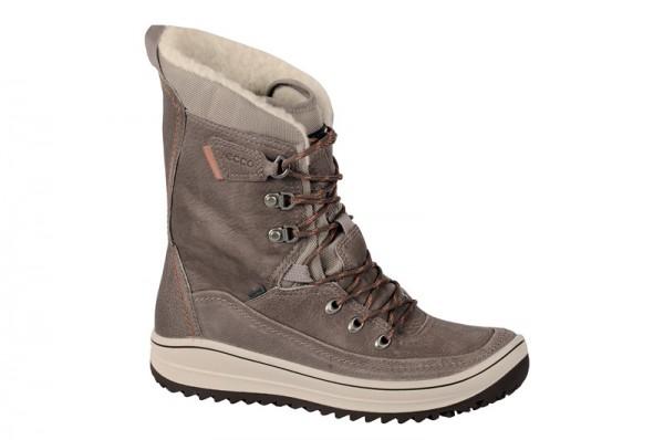 Ecco Trace Stiefel grau Warmfutter 235073