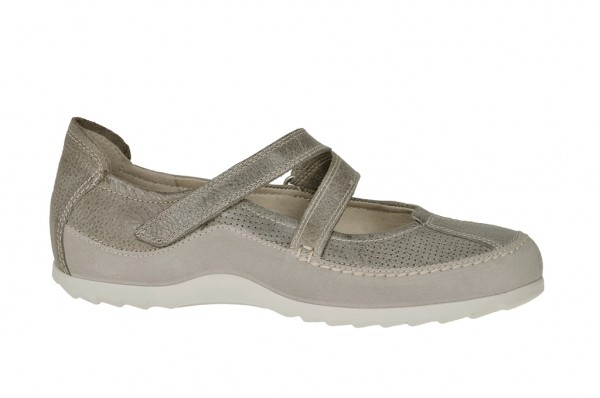 Ecco Jump Mary Jane Schuhe in moon rock grau