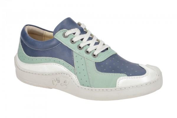 Eject Skat Schuhe blau grün weiß Damen 20419