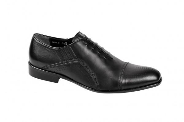 Bello Nappa Nero Schuhe in schwarz Slipper D0849