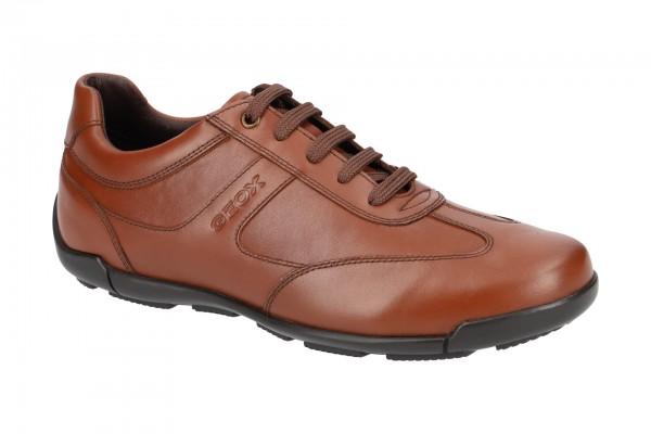 Geox Edgware Schuhe braun cognac