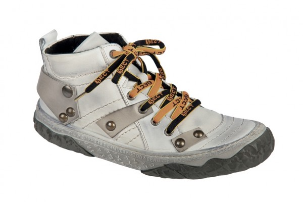 Eject Shara E-13579 warmfutter Boot weiß grau