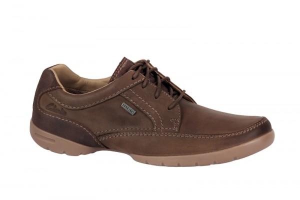 Clarks Ramblas Way GTX Schuhe braun