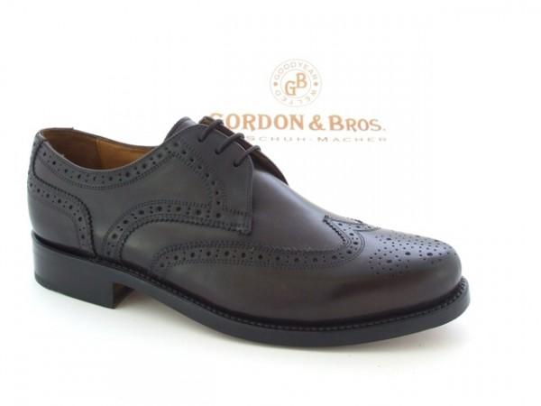 Gordon & Bros. 3351 Schuhe braun rahmengenäht