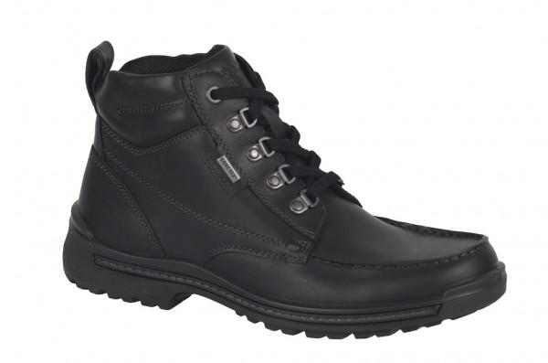 Ecco Iron Stiefeletten schwarz Gore-Tex