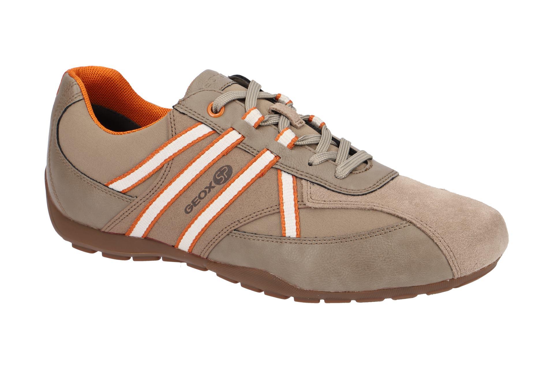 Geox Sneaker Schuhe RaveX beige orange