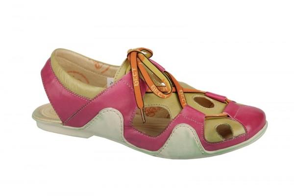 Eject Sayaka Sandaletten E-13431 pink grün