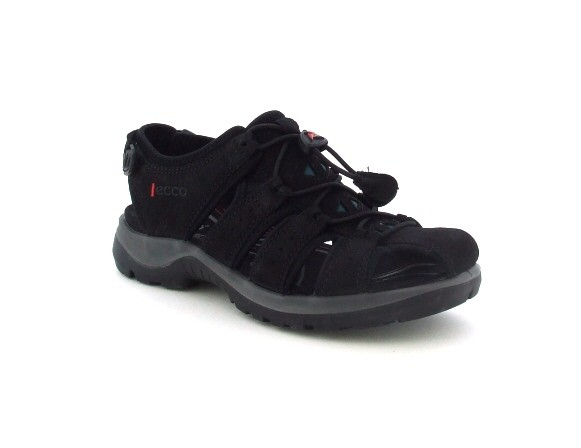 Ecco Offroad Schuhe schwarz Sandaletten