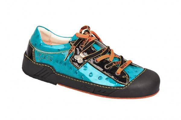 Eject Puzzle Schuhe blau Lack 15623.1
