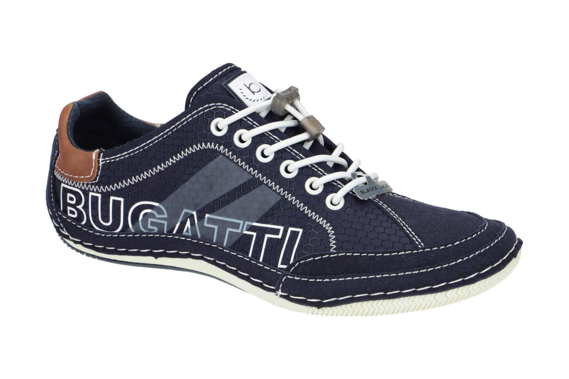 4100-dark-blue Bugatti 321-48009-5400 CANARIO Herren Schuhe Sneaker