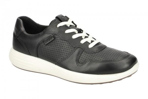 Ecco Soft 7 Runner Schuhe schwarz Herren