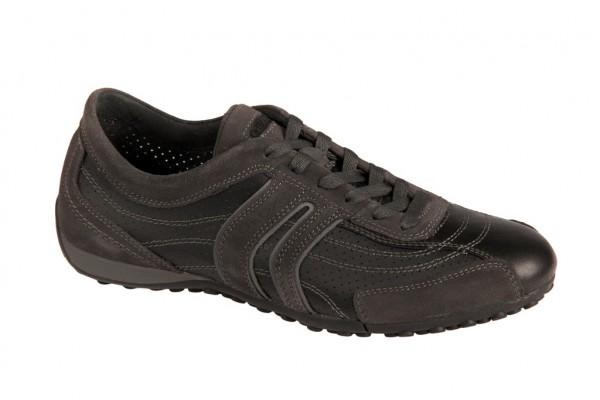 Geox Respira Bis Schuhe in schwarz Herren Halbschuhe