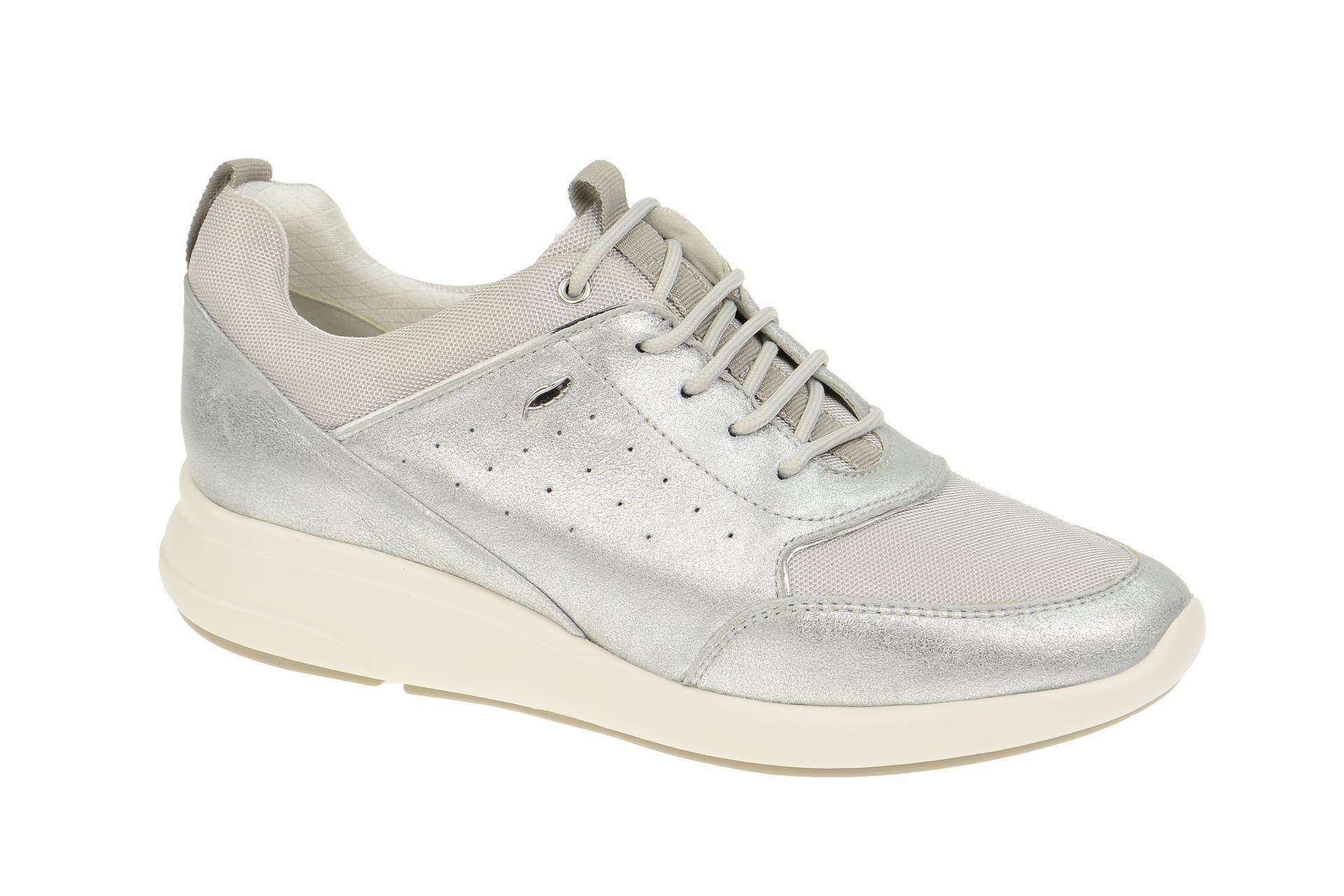 Geox Ophira Schuhe silber D621CB
