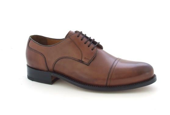Gordon & Bros. 3297 Schuhe tan rahmengenäht