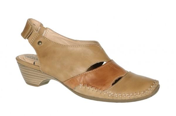 Pikolinos Sandale in hellbraun Damen Sandaletten 818-8813