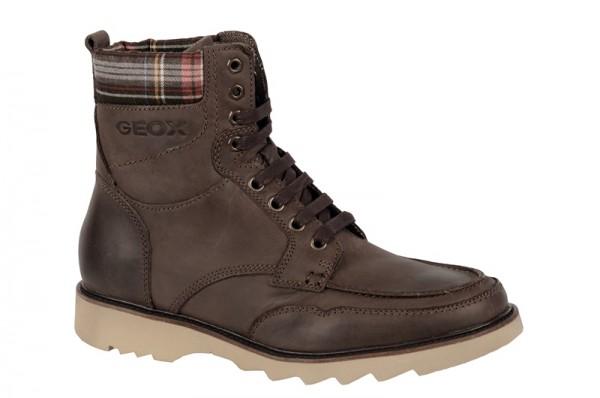 Geox Rodeo Stiefel dunkelbraun Boots U24S3F