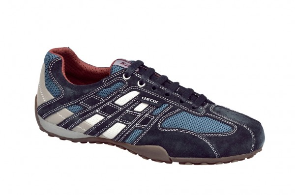 Geox Snake Schuhe avio blau U1107M 02214 C4286