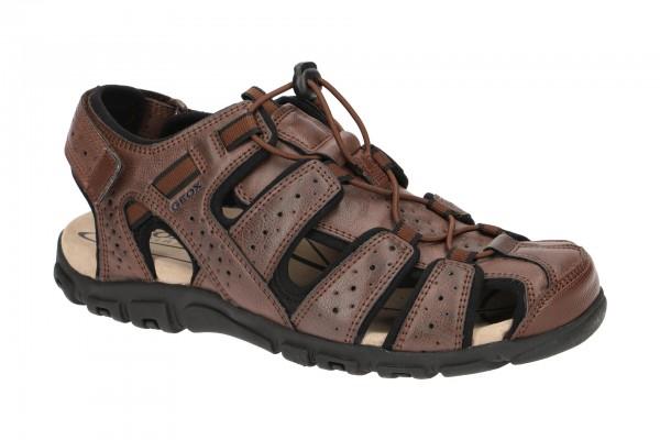 Geox Strada Outdoor Sandale braun U6224B