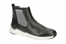 Gabor Stiefelette schwarz weiß Mid-Sneaker 53.780.27