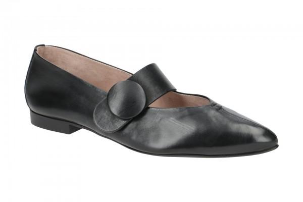 Paul Green Ballerinas Schuhe schwarz 3732