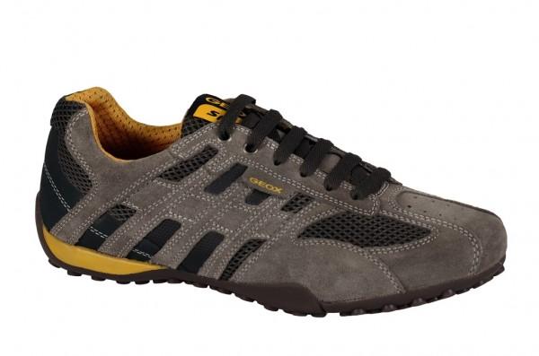 Geox Snake M Schuhe in taupe grau U1107M