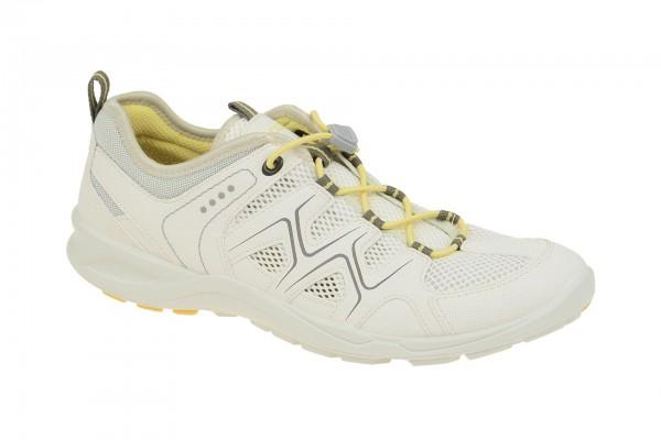 Ecco TerraCruise Schuhe weiß gelb