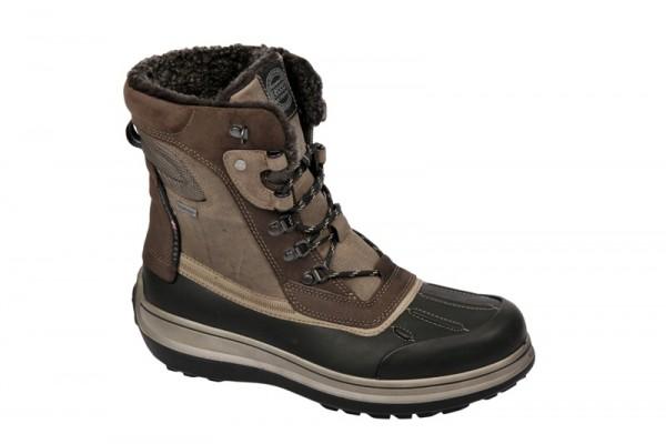 Ecco Roxton Stiefel in schwarz braun Gore-Tex Warmfutter