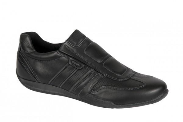 Ecco Summer Sneaker Schuhe in schwarz Slipper