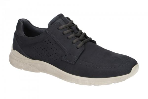 Ecco Irving Herren Schnür Schuhe blau