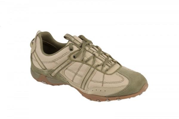 Geox Respira Schuhe Freccia beige grün